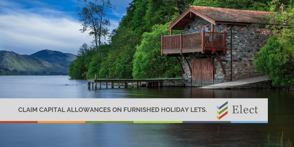 Capital Allowances on Furnished Holiday Lets