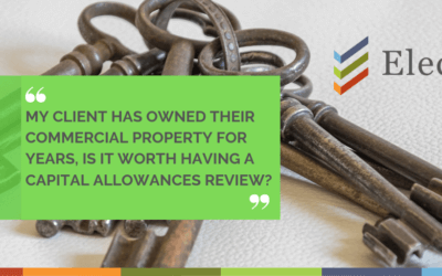 Owned Commercial Property for Years