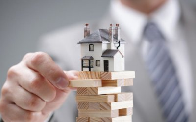 How do Lenders keep an eye on their risk when lending for a real estate development?