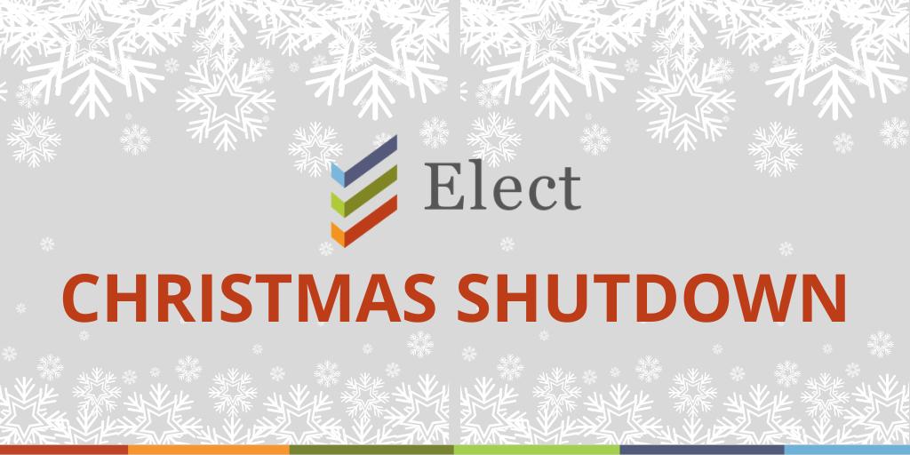 Christmas Shutdown