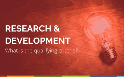 R&D – Qualifying and Non Qualifying Costs